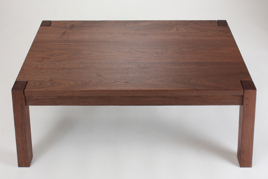 custom parson's style coffee table