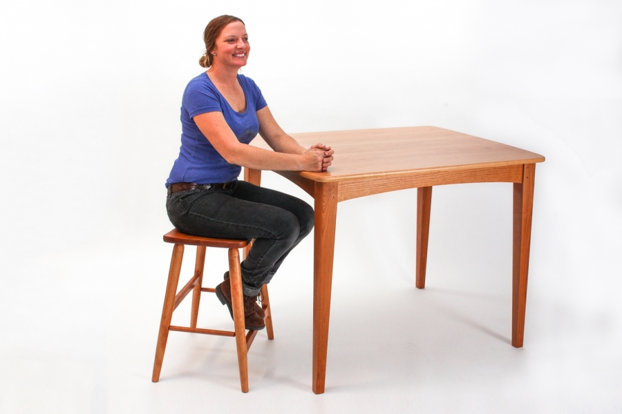 """Autumn at 36""""  high bar/bistro table"""