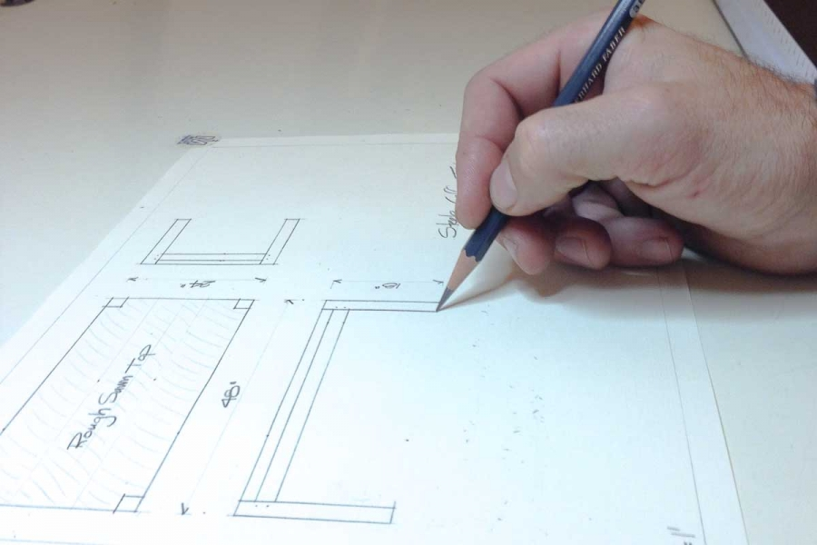 drawing the Steele table