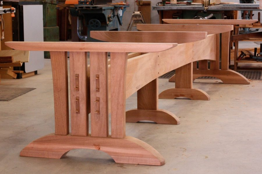 base for extra large trestle table