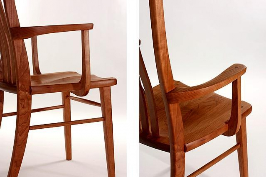dining chair arms