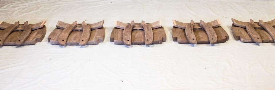rocking chair parts matched in sets, 3