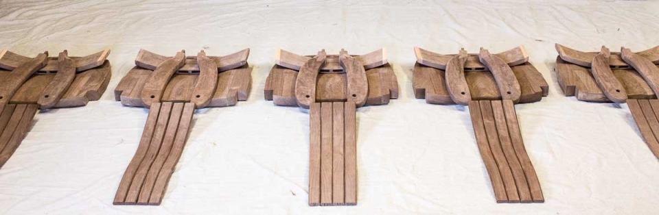 rocking chair parts matched in sets, 4