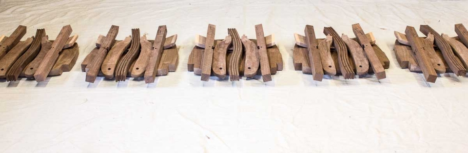 rocking chair parts matched in sets, 5