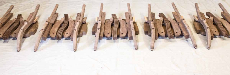 rocking chair parts matched in sets, 6