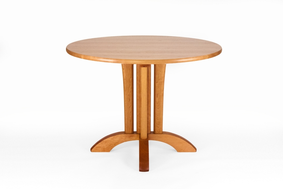 small McCoy pedestal table, studio view