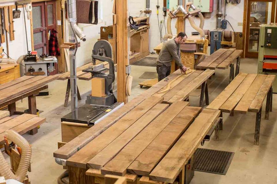 Austin marking lumber