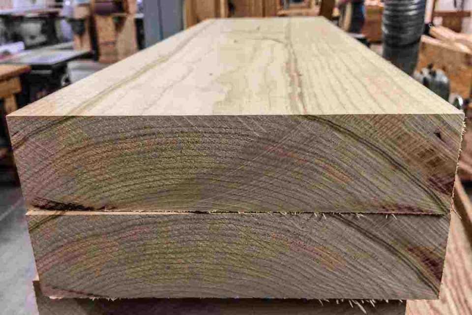 growth rings on cherry boards
