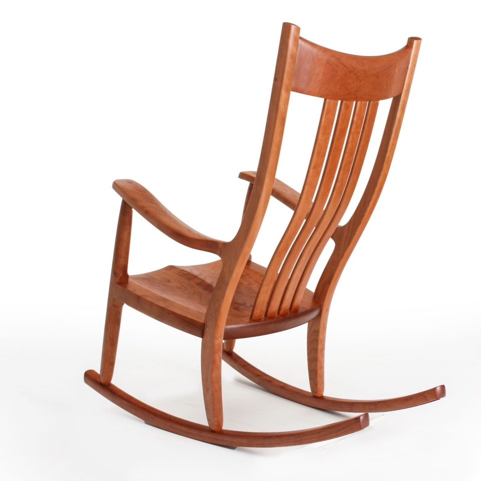 Phenomenal Handmade Rocking Chairs The Weeks Rocker Beatyapartments Chair Design Images Beatyapartmentscom