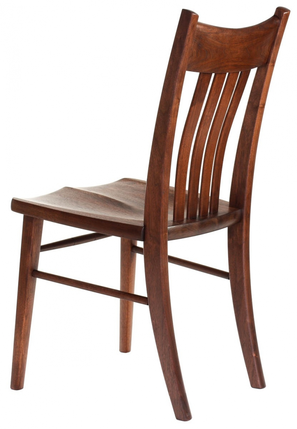 Williams side chair back quarter view