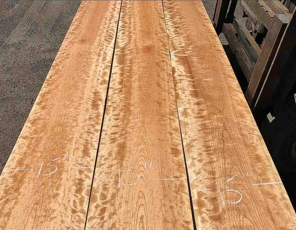 matched cherry boards
