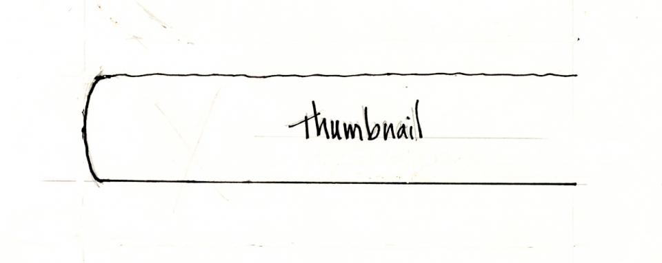 drawing of tabletop thumbnail edge