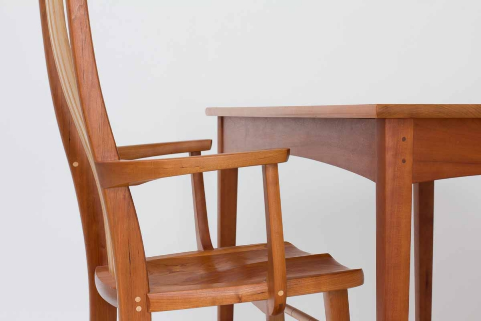 arm chair and table apron reference