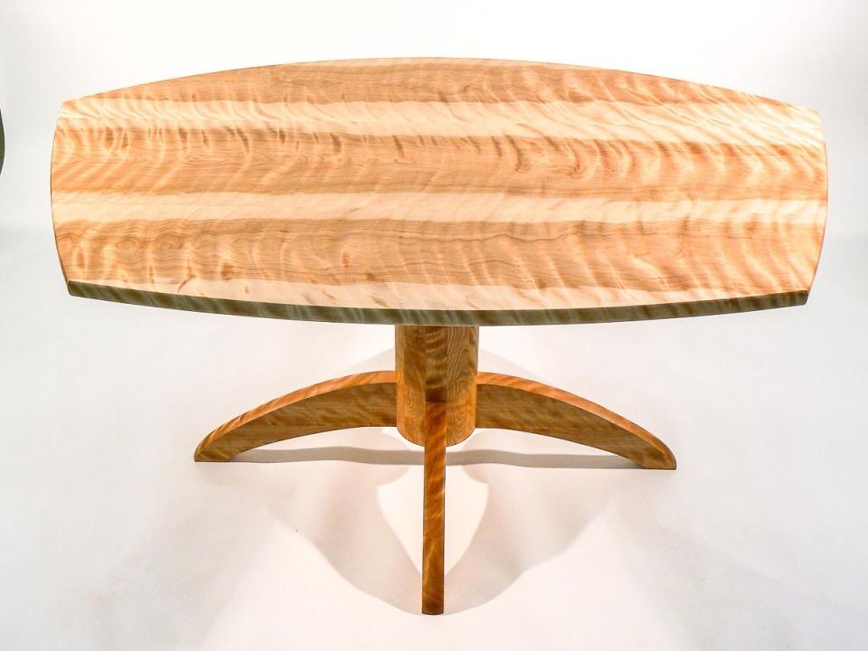 Mendelsohn Pedestal Table, custom top