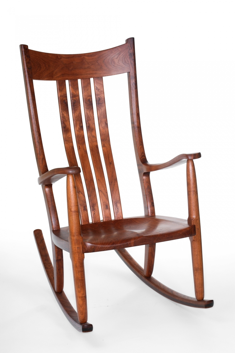 mesquite rocker front eighth view
