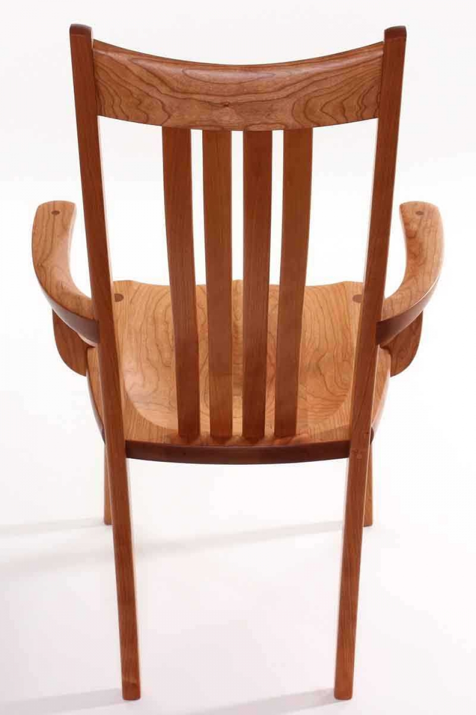 Wilson arm chair back view