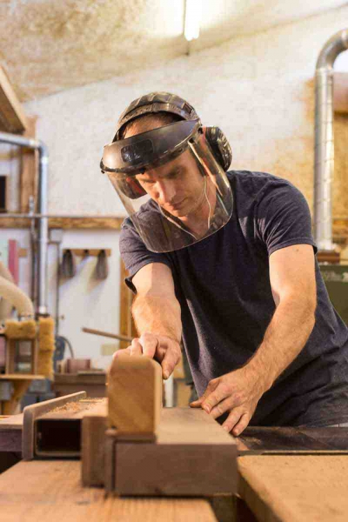 Austin sawing rocker laminations