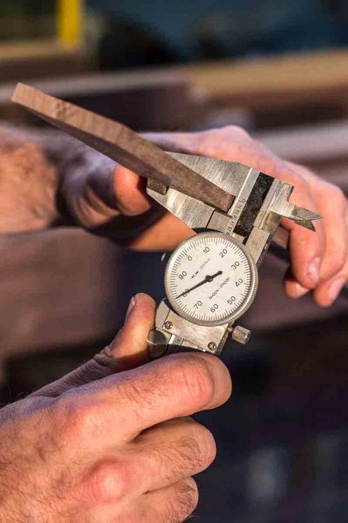 rocker lamination in the dial caliper