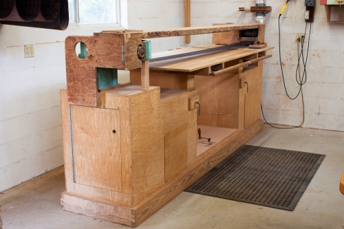shop built stroke sander