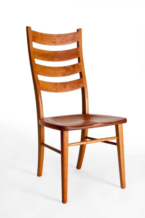 Eubanks dining chair front quarter view