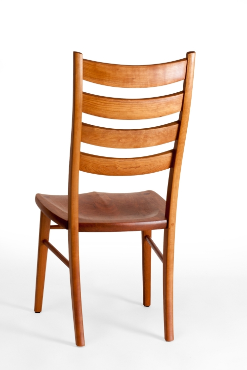 Eubanks dining chair, back eighth view