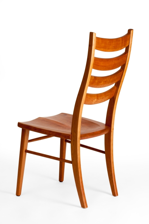Eubanks dining chair, back quarter view