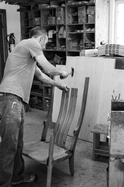 rocking chair assembly steps, 6