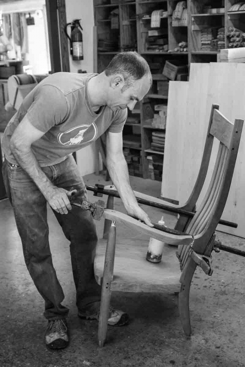rocking chair assembly steps, 12