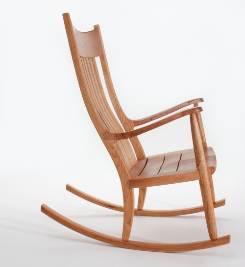 oversize rocker, side view