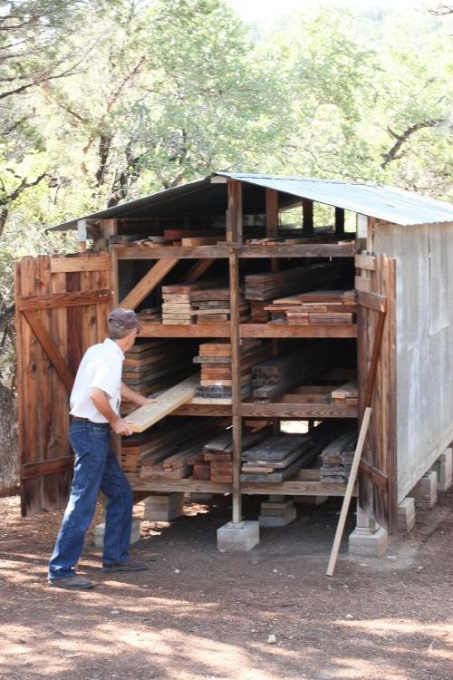 Gary loading utility lumber shed
