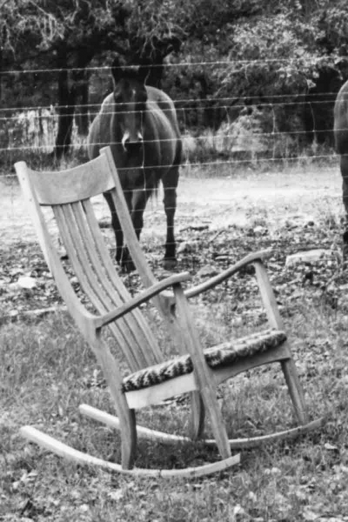 the first rocking chair