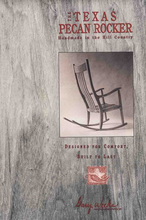front of first rocking chair brochure