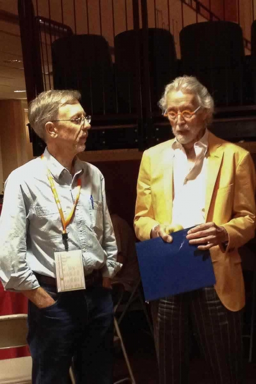 Gary and Wendell Castle at the Furniture Society Conference
