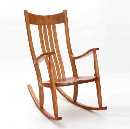 Weeks rocking chair in cherry