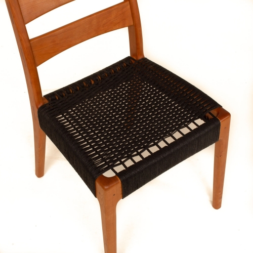 woven cord seat