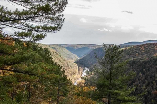 beautiful country near Irion Lumber, Pennsylvania