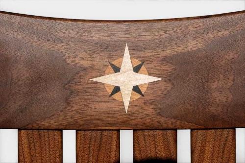 star burst inlay