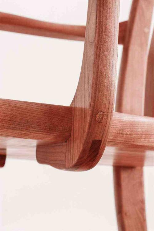 chair arm structural detail