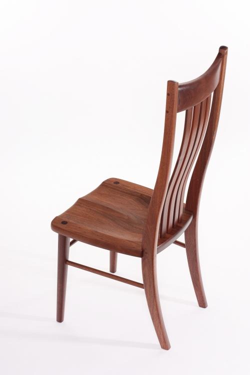 Wilson side chair in walnut