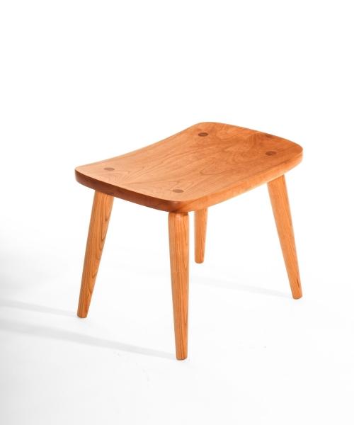 cherry footstool
