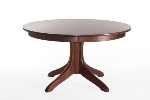our Johnson pedestal table, studio view