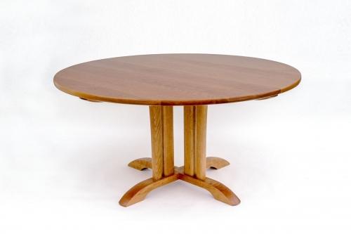 cherry McCoy pedestal table