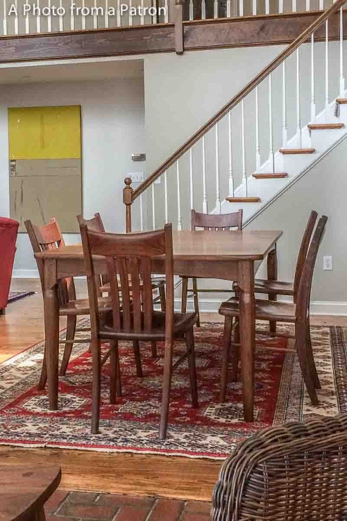 Williams dining chairs by the stairs