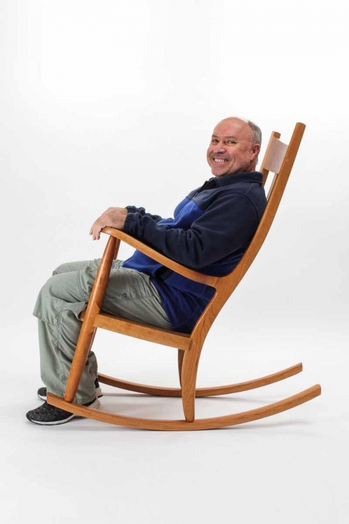 patron in rocking chair for retirement, 18-111-Edit